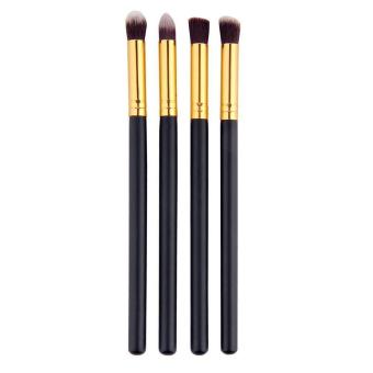 Professional Makeup Cosmetic Tool Eyeshadow Powder Foundation Blending Brush 4pcs Set - intl