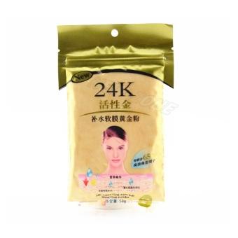 24K Masker Bubuk Emas Untuk Wajah Gold