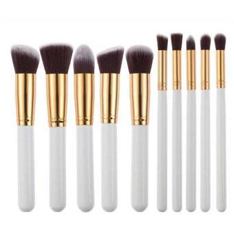 10pcs Makeup Brushes Set Powder Foundation Eyeshadow Tool - intl
