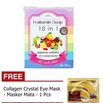 ... Collagen Crystal Eye Mask Masker Mata . Source ... MINYAK OLES WAYANG KHUSUS JERAWAT 30ML Home Source Fruitamin Soap 10 Source .