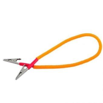 5 PCS Dental Patient Bib Clips Chains Napkin Holder Flexible Coil Plastic(…)