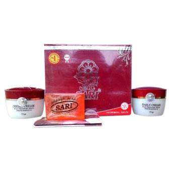 Sari Cosmetics Cream Whitening Untuk Kulit Normal Set