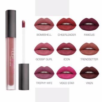 Harga Terbaru Mesh Huda Liquid Lipstick Lipgloss Matte Set 3 Color Random .