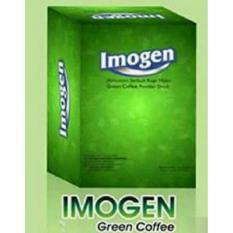 Imogen Green Coffee Kopi Hijau Pelangsing - 1 box 20 sachet | GNT Fiber Fibreslim