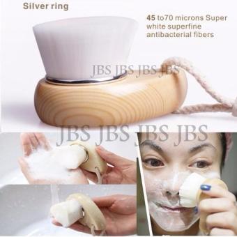 JBS Pembersih Wajah - Wood Brush Facial Cleaning