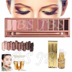 JBS Profesional 12 Warna Eye Shadow Makeup Palette Kit N3 - whitening Serum Gold - Perawatan Kulit Wajah