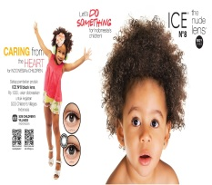 JBS Softlens Ice N8 The Nude Lens - Hitam