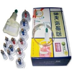 Kangzhu Vacuum Cupping/Alat Bekam - Isi 12 cup / 12 kop