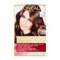 L'Oreal Excellence Creme - #5 Natural Light Brown