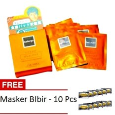 Lucky - Naturgo Masker Lumpur Untuk Wajah 10 Pcs + Gratis Masker Bibir 10 Pcs