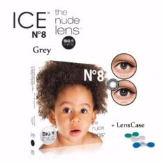 Lucky X2 Ice Nude N8 Softlens/Lensa Kontak – Black - With Lenscase / 1Pcs