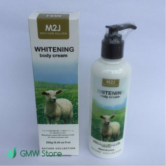 M2J Pemutih Kulit M2J Whitening Body Cream 250ml - M104
