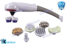 Magic Massager 8 in 1 Alat Pijat Terapi Kesehatan - Grey