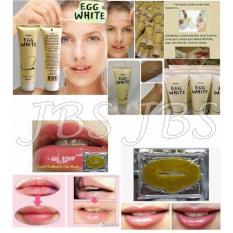Mask Egg White Peel Off Masker Putih Telur - 85 Gram - Collagen Lip Mask - Masker Bibir