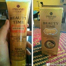 MASKER PIBAMY GOLD MASK / PIBAMY BEAUTY TIME GOLD MASK