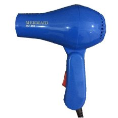 Mermaid Hair Dryer Mini Lipat Hairdryer Travelling - Ungu