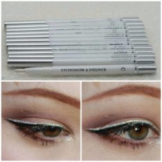 Mesh White Eyeliner Waterproof - Eye Liner Putar Warna Putih - 1 pc