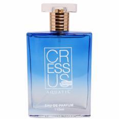 Morris - Cressus Aquatic Eau De Parfum 110ml - Biru