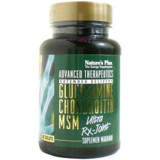 Nature's Plus Ultra RX-Joint Glucosamine Chondroitin MSM 90's - Nyeri Sendi Lutut, Kaku Otot, Rematik, Pelumas Sendi, Oli Sendi, Mencegah Osteoporosis, Rheumatik, Sakit Otot