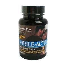 NATURE'S PLUS Ultra Virile Actin - 60 Tablets