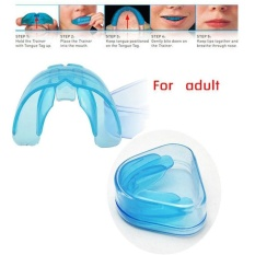New Blue Teeth Orthodontic Trainer Alignment Dental Appliance For Adult - intl