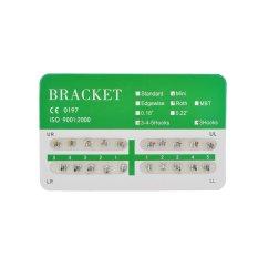 New Dental Dentist Orthodontics Brackets Mini Roth 018 3 Hooks – 20Pcs/Pack(...)