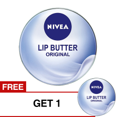 Nivea Lip Butter Original 16.7 gr - BUY 1 GET 1