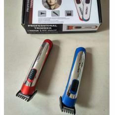 NOVA NS 8607 ALAT CUKUR RAMBUT ELEKTRIK HAIR CLIPPER TRIMMER KUMIS WIG SALON HAIR STYLE - Biru