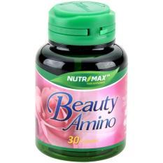 Nutrimax Beauty Amino 30's - Beauty Placenta, Vitamin Kulit, Suplemen Kulit, Anti Aging, Mencegah Keriput, Flek Hitam, Menghilangkan Jerawat, Antioksidan