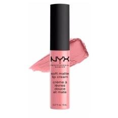 NYX Professional Makeup Soft Matte Lip Cream 06 Istanbul - Lipstik Matte Pink Long Lasting Lightweight Tahan Lama