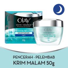 Olay White Radiance Night Restoring Cream - 50gr