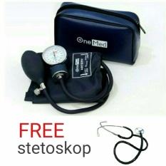 Onemed - Tensimeter Jarum (Tensi 200) Free Stetoskop