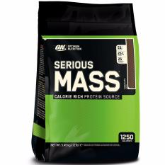 Optimum Nutrition Serious Mass 12 Lb Rasa Coklat