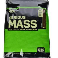 Optimum Nutrition Serious Mass Gainer ECERAN 2 LB CHOCOLATE