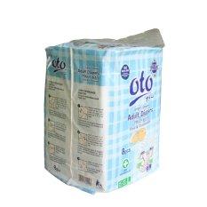 Oto Adult Diapers / Popok Dewasa Ukuran L - Isi 8 x - Putih