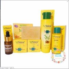 Paket Temulawak V Natural BPOM ( Cream Siang, Malam , Sabun WIdya, Toner, Alcohol dan Serum ) Paket Perawatan Wajah