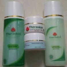 Paket Whitening Kulit Berjerawat dengan Serum Theraskin BPOM