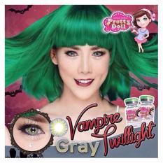Pretty Doll Softlens Vampire Twilight - Grey + Free Lenscase