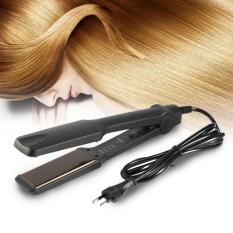 Professional Multifunctional Temperature Control Hair stylish Straightener Flat Iron Portable Hairdressing Tools-EU plug - intl
