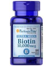 Puritan's Pride Ultra Mega Biotin 10.000 mcg - 100 kapsul