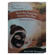 Qiansoto Masker Wajah Alami Fruit 3pcs