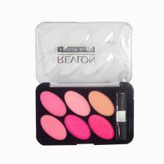Revlon Powder Blush Premium Six Color (Black)