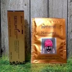 Serum Gold Hanasui Jaya Mandiri Gratis 1 Pcs Masker Naturgo Hanasui
