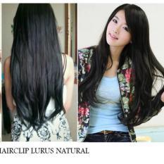 Seven 7 Revolution Hairclip Big Layer Lurus Natural Hitam
