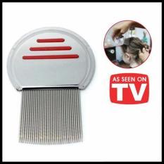 Sisir Kutu Ketombe Metal Nit Lice Comb