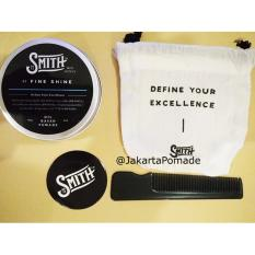 Smith Pomade Fine Shine Oilbased 3oz Free sisir