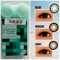 Softlens Rise / Soft Lens Rise / Soflen Merek Rise Big Eyes - Grey / 1Pcs