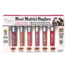 The Balm Meet Matte Hughes® Set of 6 Mini Long-Lasting Liquid Lipsticks Version 2