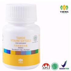 Tiens Pemutih wajah dan seluruh tubuh vitaline softgel herbal tiens 30 kapsul