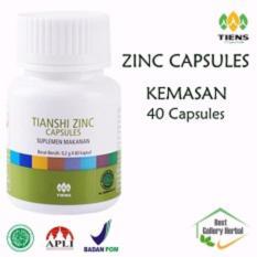 Tiens Zinc Capsules (Penggemuk Badan) - Kemasan 40 Capsules